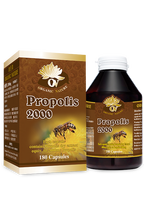 Organic Nature Propolis 180 Capsules health supplements