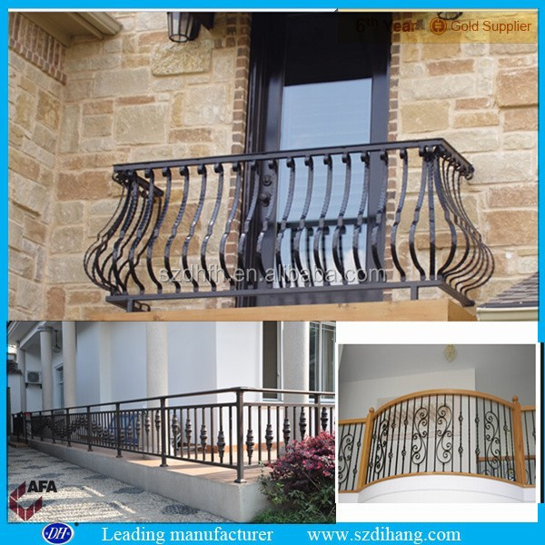 Fer grill pour balcon fer forg balustrade fer forg - Garde corps de fenetre fer forge ...