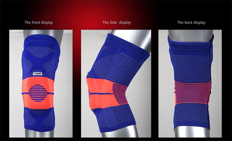New Coloured Compression Body-building Kneecap for Outdoor sports, Basketball,Jogging and Hiking