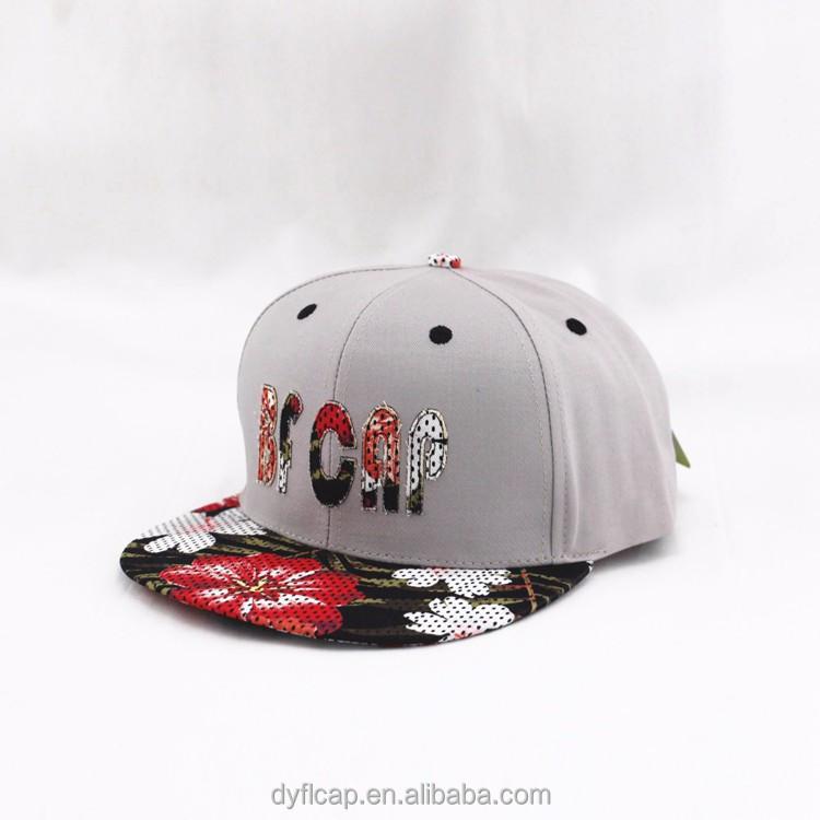 2ee065c2882 cool plain custom embroidery customize snapback hats flat bill hip hop cap  plain snapback hats