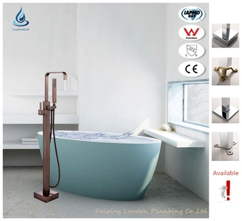 Tub Freestanding Stand Alone Bath Shower Idea Store Bathtup Mixer - Oiled bronze bathroom faucet