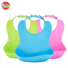 New design silicone baby bib waterproof bib baby