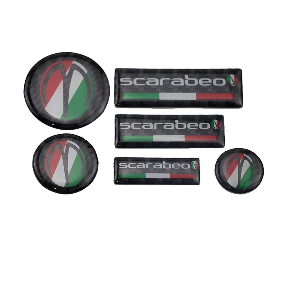 Get Quotations · PRO-KODASKIN 3D Real Carbon Sticker Decal for Aprilia  Scarabeo 50 125 150 200 250