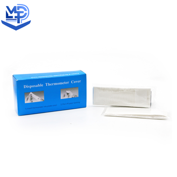 Disposable medical thermometer probe cover
