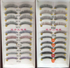 10 pairs synthetic hair eyelashes various styles