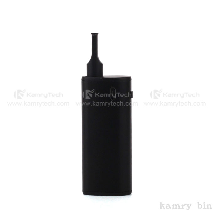 In stock bulk electronics black color rechangeable 3.7V 650mah max vapor e cig kamry CBD bin