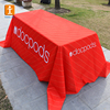 Modern trade show design table cover table cloth with logo