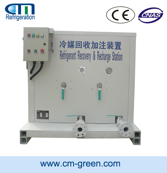 Large Tanks Refrigerant Recycling Machine Customizable for Different Refrigerants