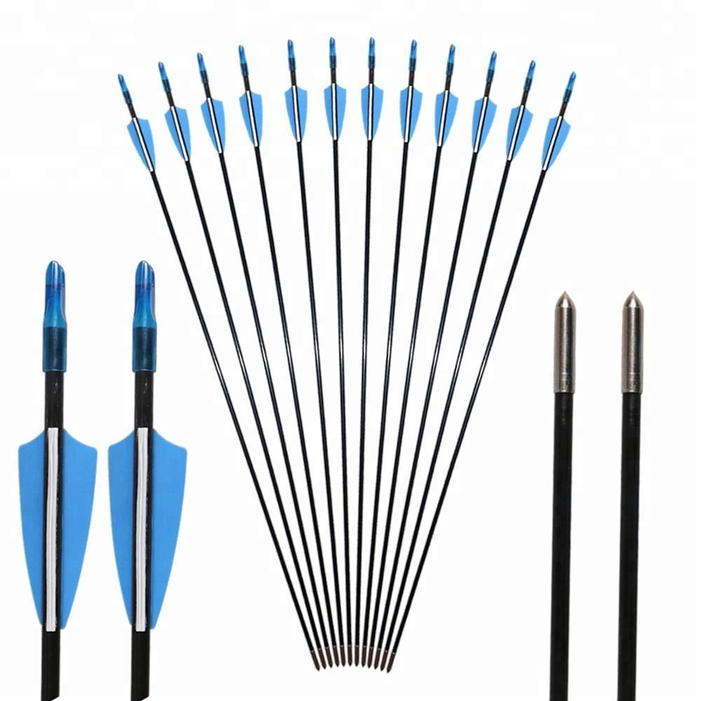 6 Mm Hunting Archery Fiberglass Bow Arrow Fiberglass Arrow For Bow Wholesale Price Buy Fiberglass Arrow Archery Arrows Archery Fiberglass Arrow