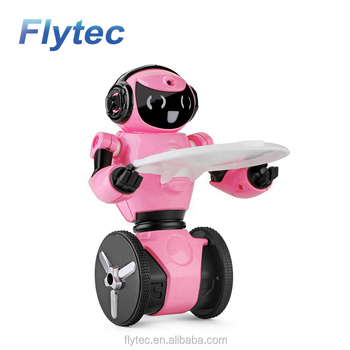 WLtoys F4 WIFI Camera Intelligent Balance Obstacles Avoidance RC Robot APP Control Toys for Children VS JJRC R1 R2 R3 RC Robots