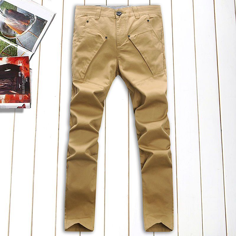 2017 New design color jeans for men (8609)