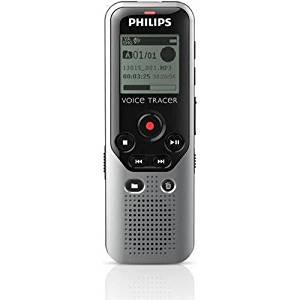 Philips Dvt1200/00 Digital Voice Tracer Recorder - Digital Voice Tracer Recorder 1200. Mono Recording Premium Display. USB CONNECTIVITY
