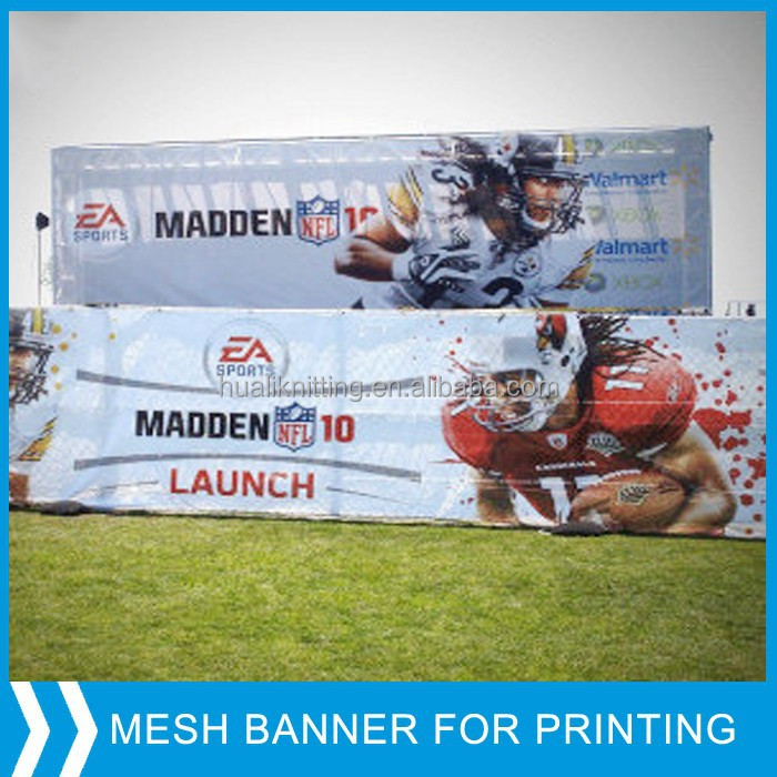 pvc banner mesh with or without liner