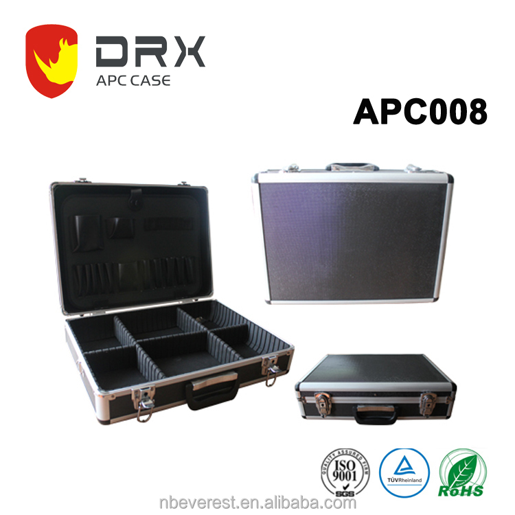 Ningbo everest APC008 new design best quality Japanese style aluminum tool case ,tool carry case ,tool suitcase with tool plate
