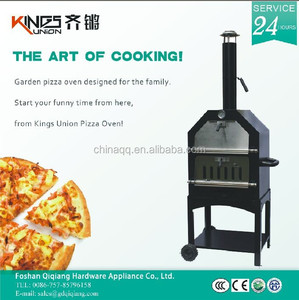 KU-002A Kings Union Small Outdoor Wood Pizza Bread Baking Oven