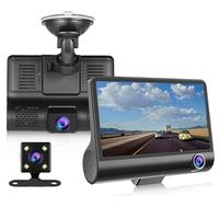FACTORY price car full hd 1080p 3 camera user manual 3 ways dash cam/ dashboard camera car dvr for safety pro