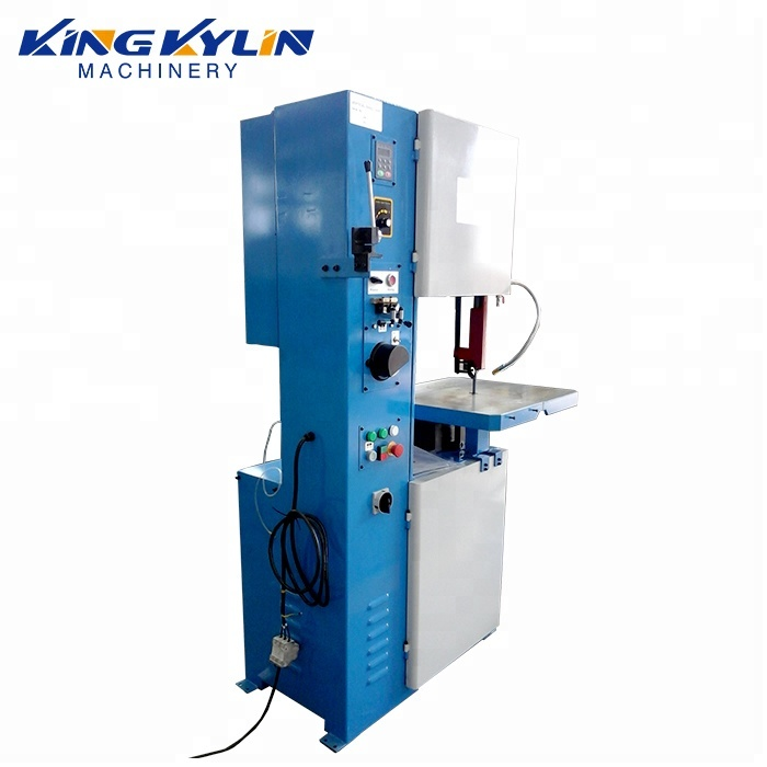 KK- 400 Engineers available to service machinery H beam Steel cutting vertical band saw