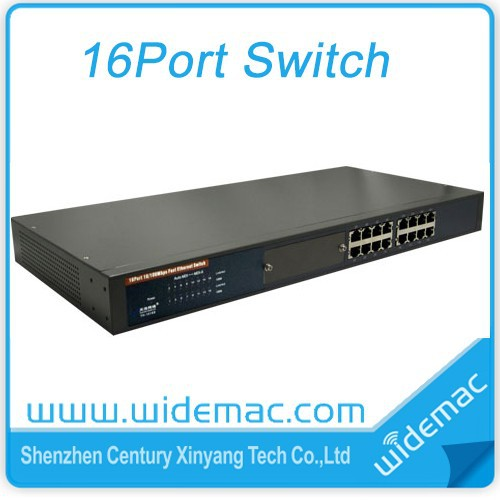 16Ports 10/100M OEM Ethernet Switch/Ethernet Switch With 16 Ports(WD-1016R)