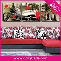 3 panel modern abstract canvas wall art painting