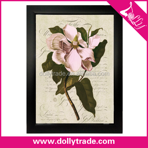 beautiful single flower paintings canvas wall art painting