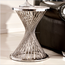 Funnel timer shape bbq side table corner table ST008