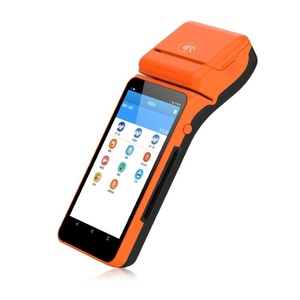 Handheld Restaurant Ordering Machines Touch Screen Terminal POS all in one