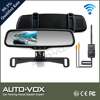 2.4g wireless rear monitor with 600 TV lines parking camera
