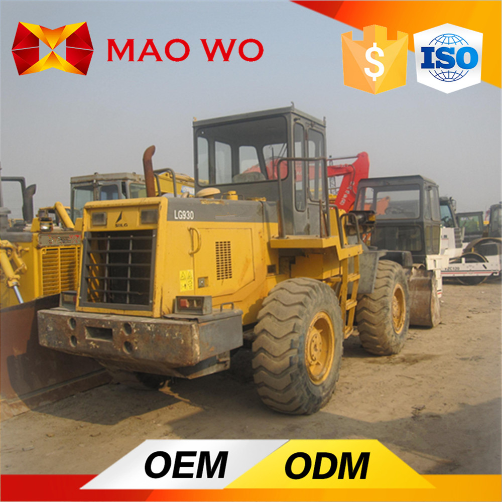 3Ton Rickshaw Wheel Loader Tractor with Front Loader Used