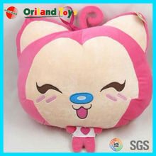 lovely promotional plush cushion