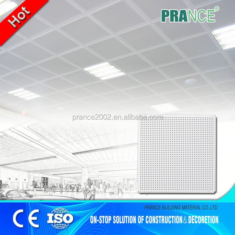 recyclable versatile metal coffered ceiling