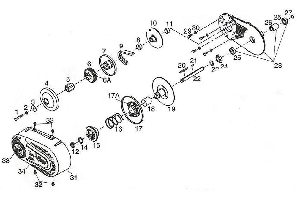 Detail Feedback Questions About 34 Clutch Go Kart Torque Converter