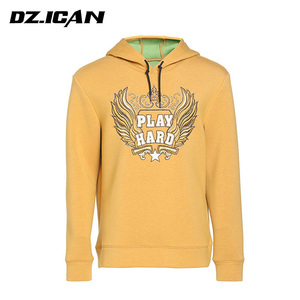 China Manufacturers Pattern Polyester Sweatshirt With Hood