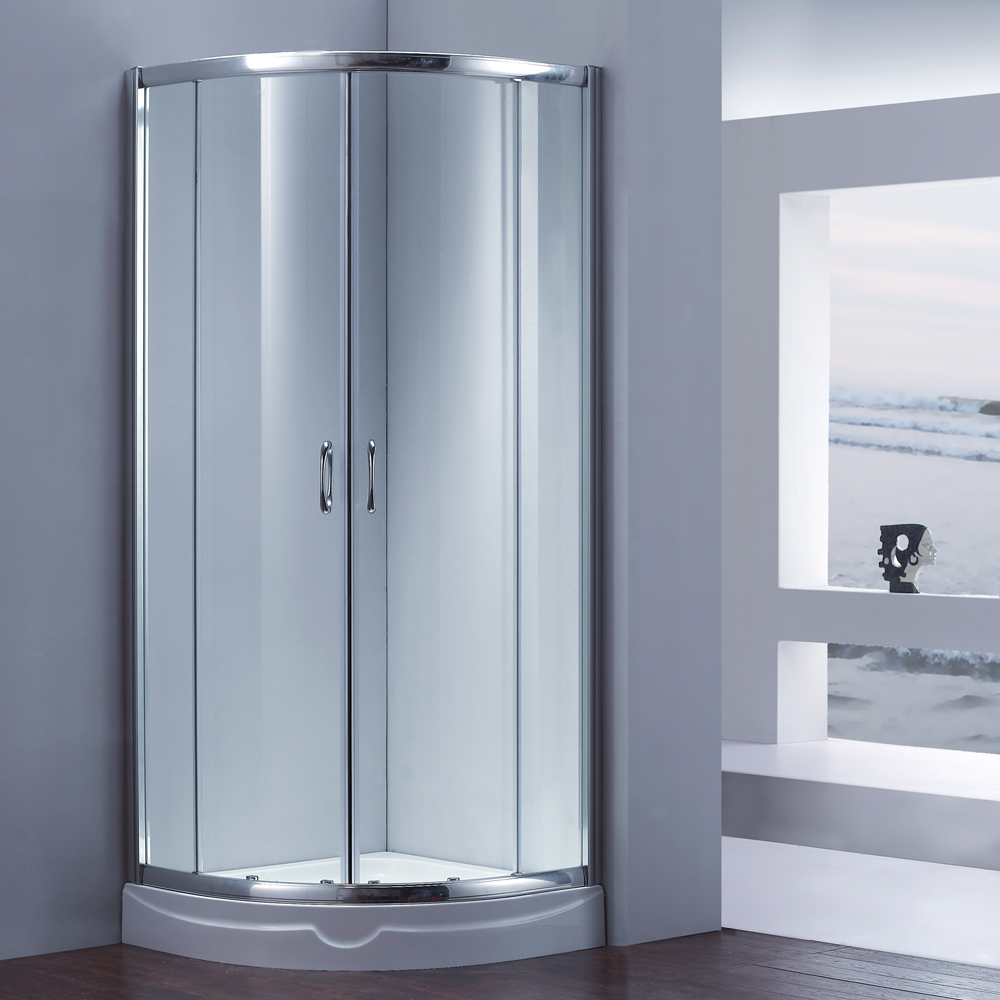 Malaysia 6mm Tempered Glass Shower Door JK6402