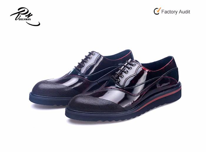 22729d4d562 Men Platform Formal Brogue Oxford Classy Dress Brogue Shoes For Men ...