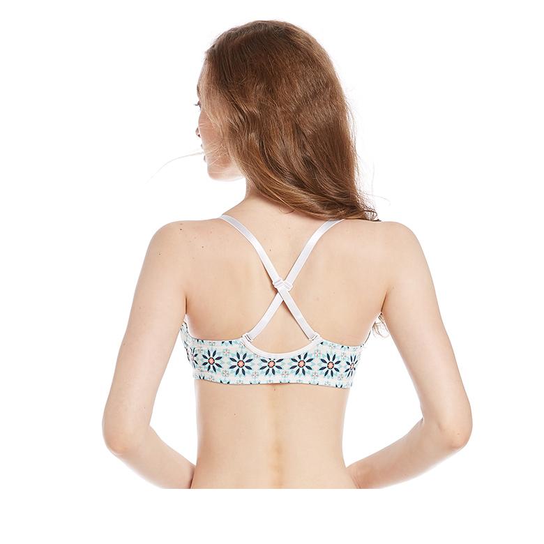 2b07d18d7cb8d Sexi girl wear types seamless most popular printed underwear bra new design