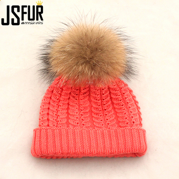 f405a030 Wholesale China Kids Cc Beanie Crochet Knit Fur Pom Pom Hat - Buy ...