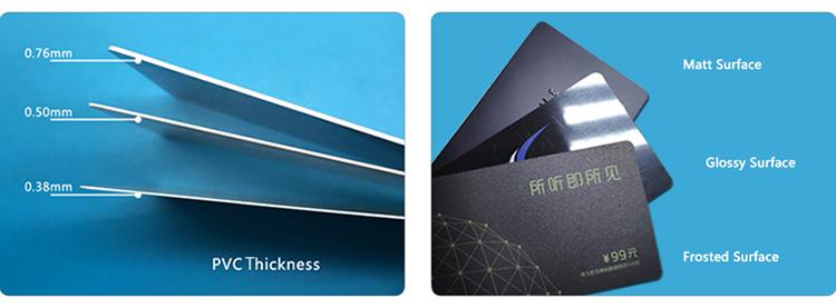 مصنع طباعة أوفست CR80 حجم اللون الهولوغرام البلاستيك الشريط المغناطيسي بطاقات بلاستيكية