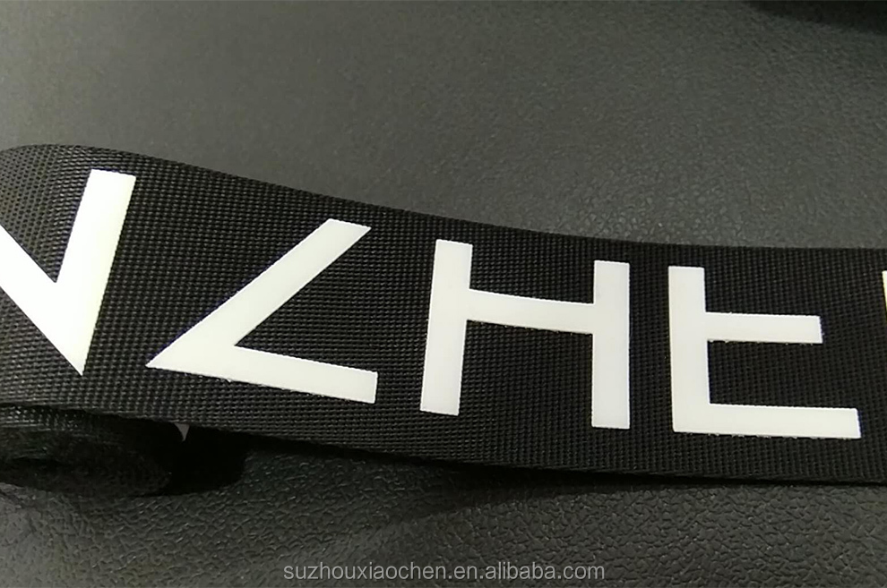 fashion customized printed jacquard elastic waist band for underwear printed elastic ribbon
