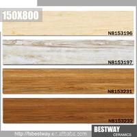 New Design size150x800 floor tile wood look ceramic tile