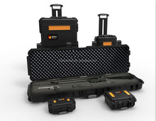 Hard plastic flight tool case waterproof shockproof Military transport Case