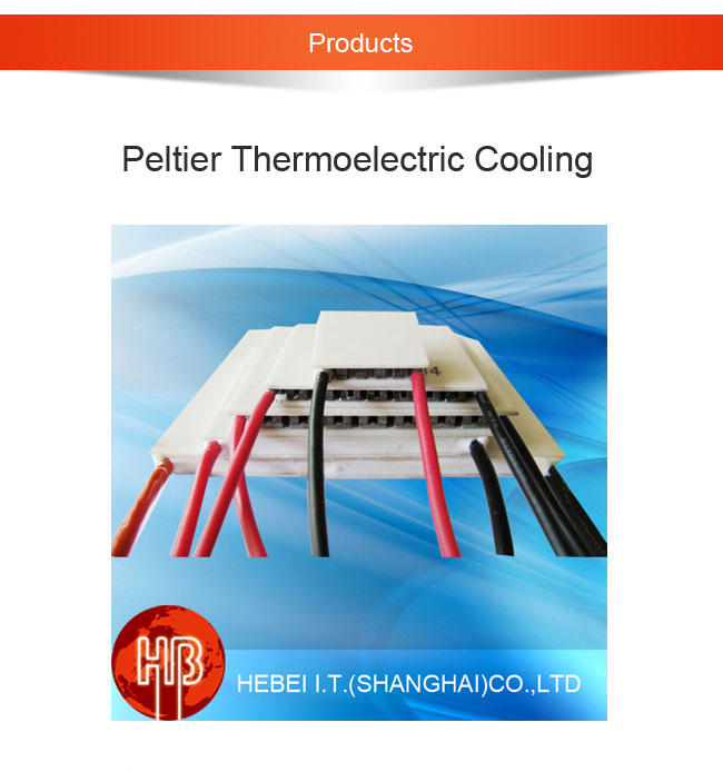 TEC1-12730 cooling cell peltier module 62*62*3.9mm 350W  thermoelectric cooler