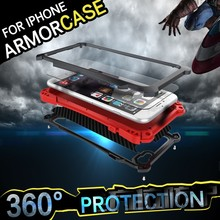 Ulak batman titanium material heat dissipation phone case for ipone 6s case