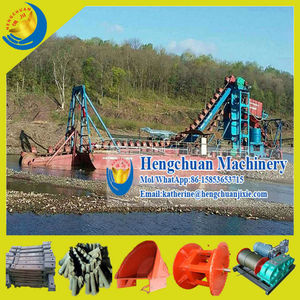 Chinese Gold Dredge/Gold Dredging Machinery/Gold Dredging Equipment for Sale