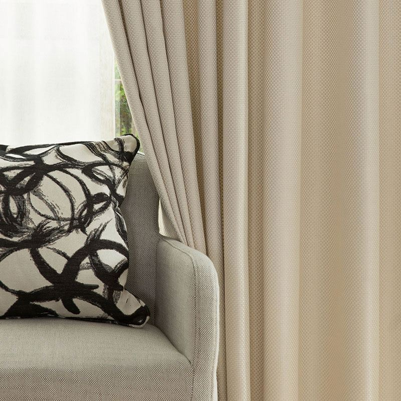 chenille cortina blackout cortinas modernas telas de la cortina en china