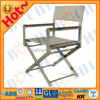 Marine Captain Aluminum Folding Chair
