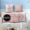 Cheap price cotton body 100% pure 22mm silk pillow cover bolster slip covers comfortable feeling