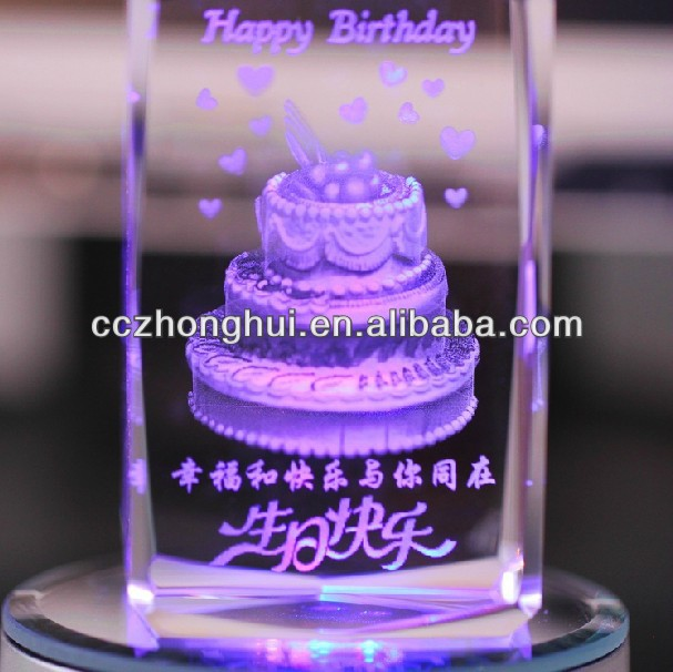 Nice crystal birthday gift with led base buy crystal birthday nice crystal birthday gift with led base buy crystal birthday gift3d laser crystal cubecheap crystal gifts product on alibaba negle Image collections