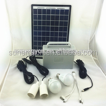 16V 10W solar kit portable solar power <strong>system</strong> for home solar light kit