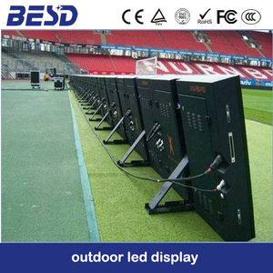 Pixel 16mm Football Stadium Perimeter Led Screen Display, Perimeter Advertising Led Display