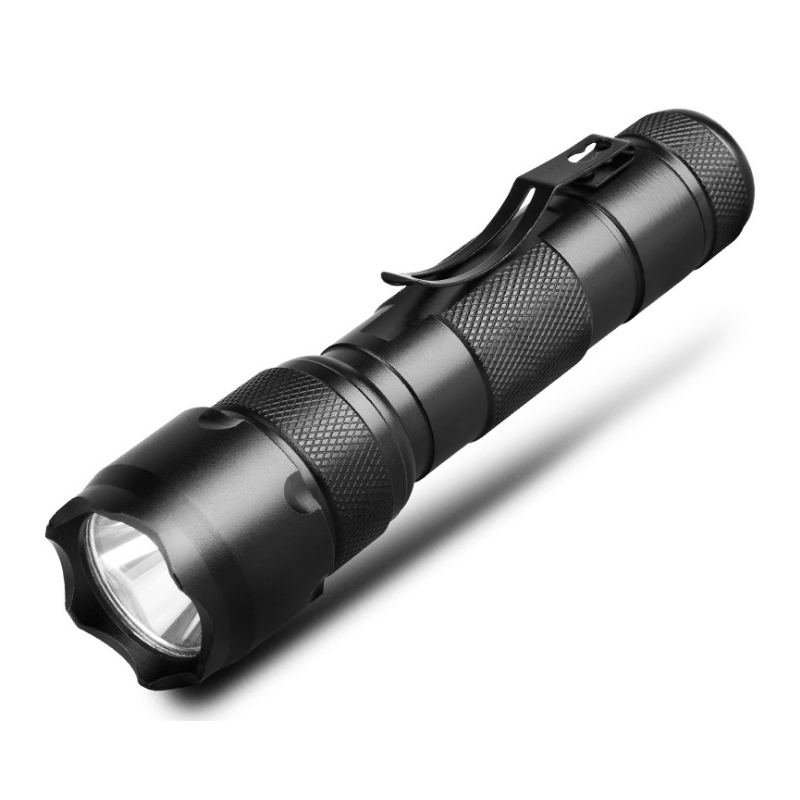 Classic 502B 18650 Rechargeable XML T6 Led Waterproof Tactical Flashlight Torch